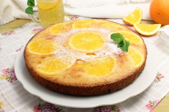 Торт с апельсином рецепт с фото пошагово