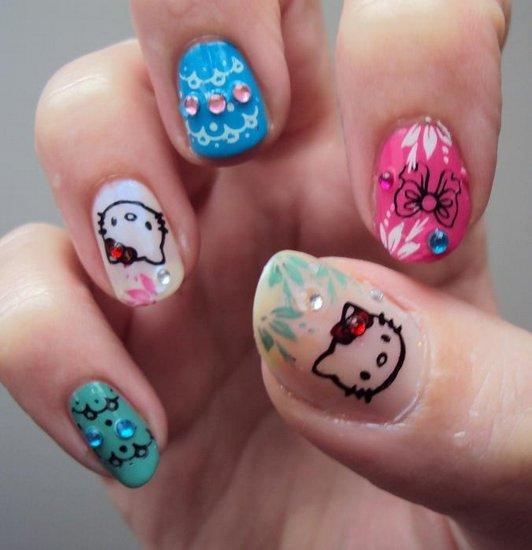 Идеи рисунков на ногтях