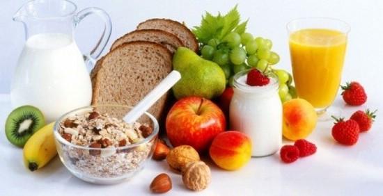 меню здорового питания при рмж