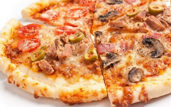 пицца на готовой основе рецепт с фото в духовке