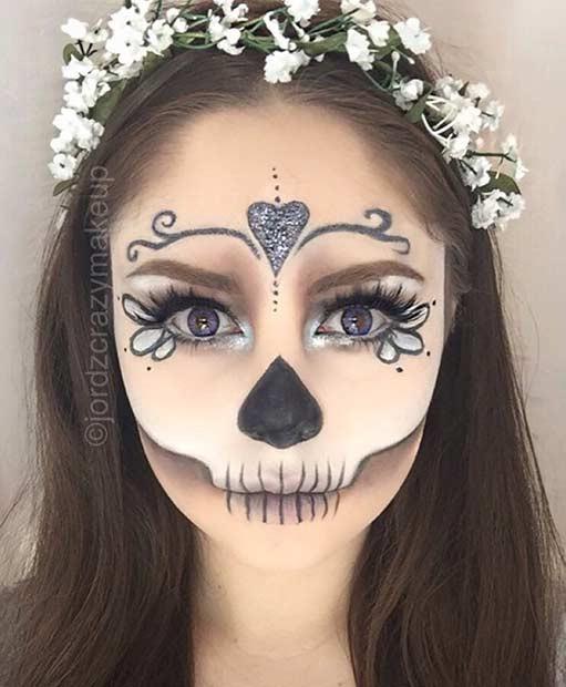 фото рисунки красками на лице