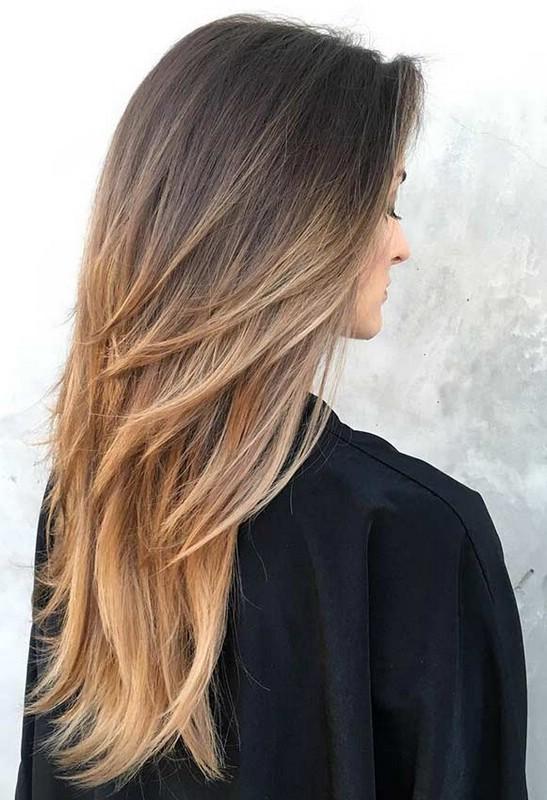 Прически с рваными прядями на длинные волосы