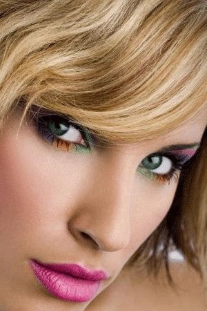 Макияж для летнего цветотипа с серо-зелеными глазами