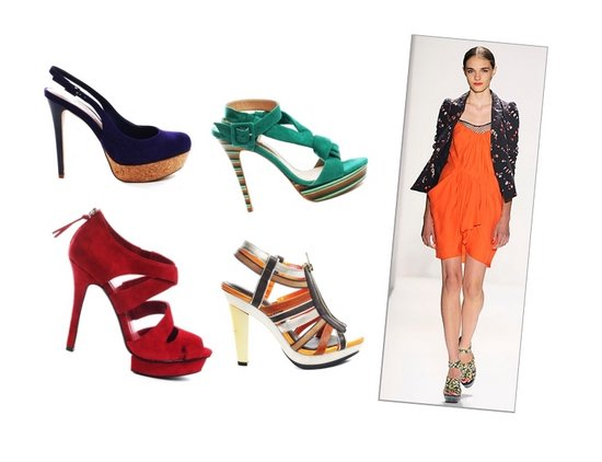 Platorm Sandals Shoe Trends Spring Summer 2010