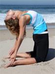 Позы йоги для облегчения периодических болей