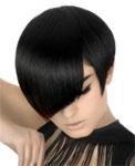 Короткие прически для идеально гладких волос