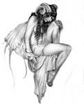Татуировки с изображением ангелов
