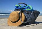 Аксессуары для пляжа – настроение блюз!