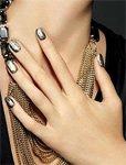 Оттенки лака для ногтей «металлик» — модный тренд