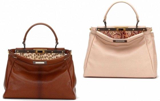 Коллекция сумок Fendi весна-лето 2011.
