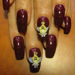 Рисунки на ногтях для Нового года