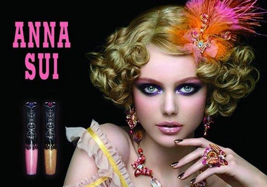 Фрида Густавссон в рекламной кампании Anna Sui весна 2011