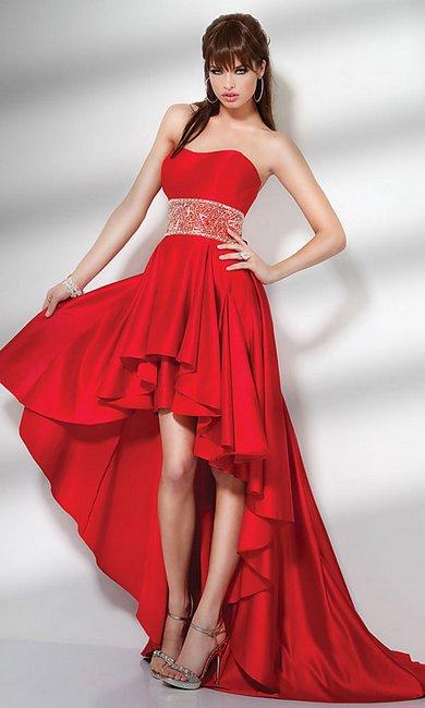 Платье красные