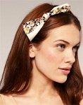 Аксессуары для волос: ободки и повязки