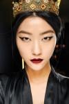 Модные тенденции макияжа с миланской недели моды сезона осень 2013