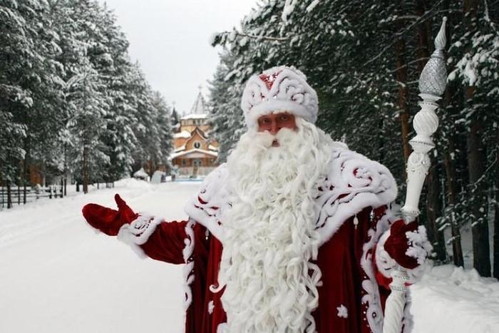Деды Морозы в российских регионах
