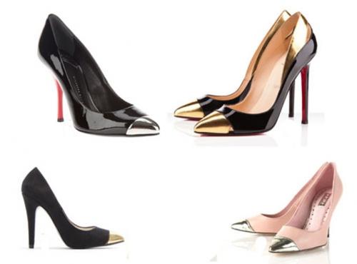 Модная обувь с металлическим носком