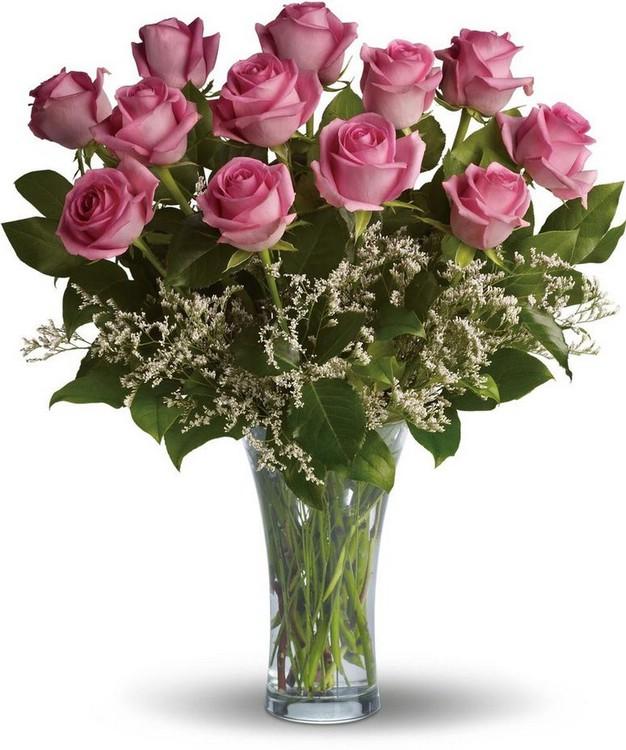 С помощью доставки цветов можно порадовать близкого человека