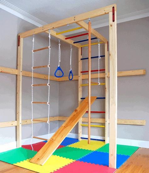 Как выбрать детский спортивный уголок