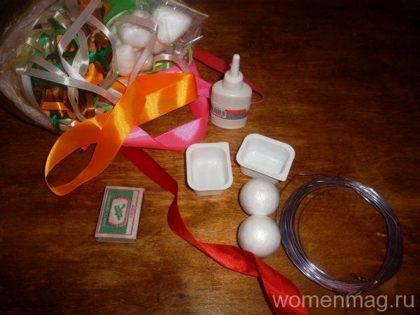 Как сделать маленькие топиарии-сувениры