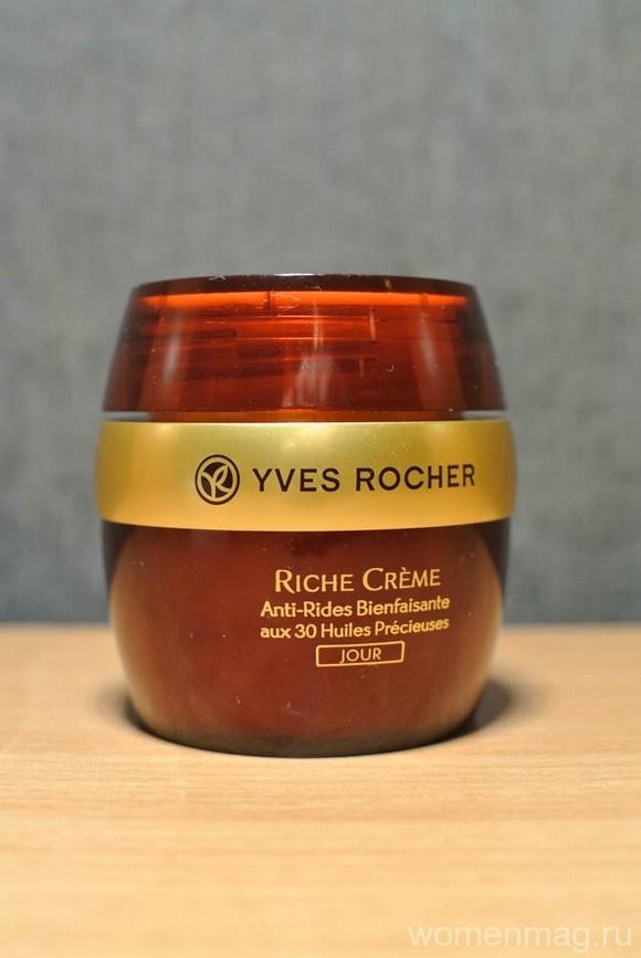 Благотворный Дневной крем от Морщин Riche Creme Yves Rocher