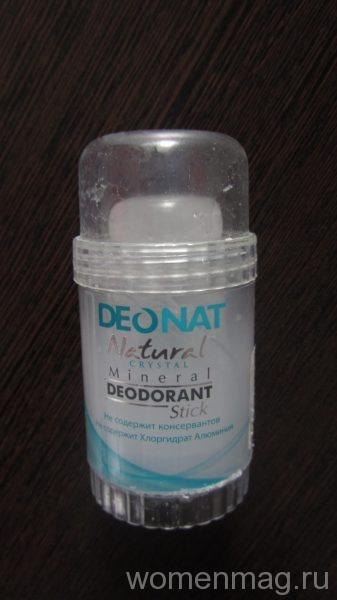 Дезодорант-кристалл DeoNat Natural crystal mineral deodorant Stick