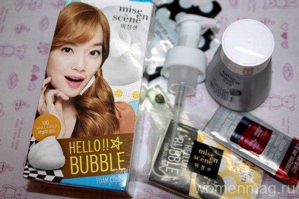Краска для волос Hello!Bubble от Mise-en-scene