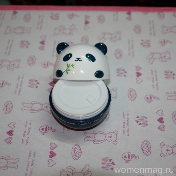 Отбеливающая маска White Sleeping pack Panda's Dream от Tony Moly