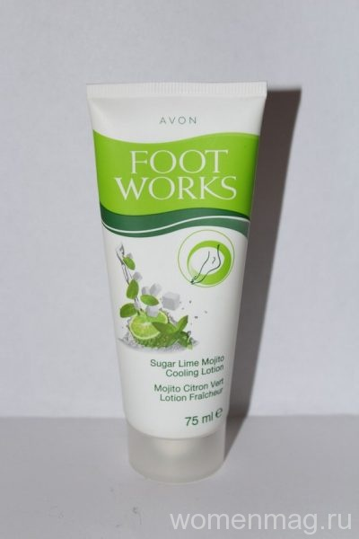 Охлаждающий лосьон для ног Мохито с лаймом Avon