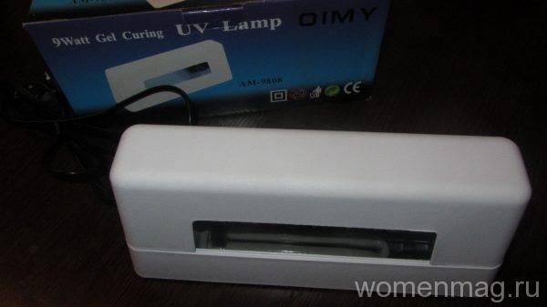 Ультрафиолетовая лампа для сушки гель-лака 9 ватт UV-Lamp OIMY AM 9808