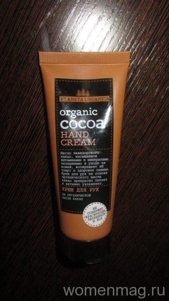 Крем для рук Planeta Organica Organic cocoa
