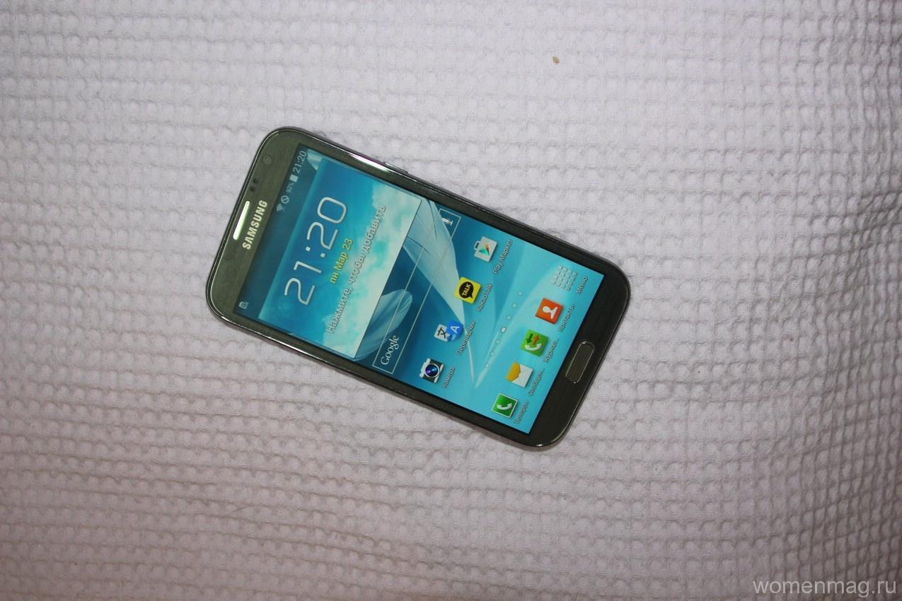Смартфон Samsung NOTE 2. Отзыв