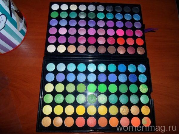 Тени для век Beauties Factory eyeshadow palette