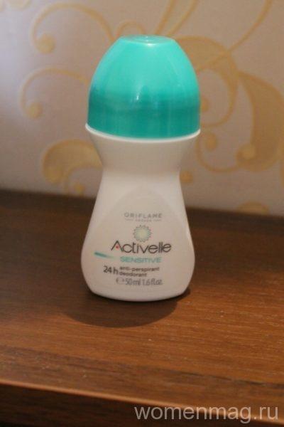 Шариковый дезодорант-антиперспирант от Орифлейм Activelle sensitive