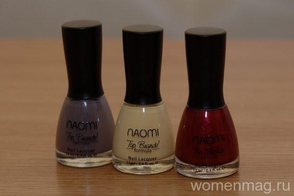 Лак для ногтей Naomi