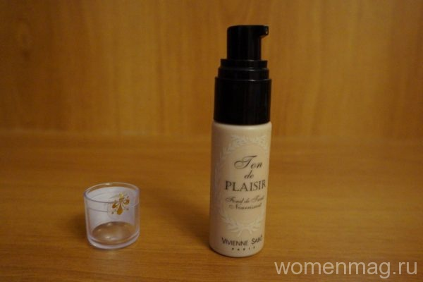 Легкость на лице с тональным кремом Vivienne Sabo Ton de Plaisir № F2