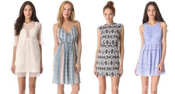 Варианты платьев для девушек маленького роста