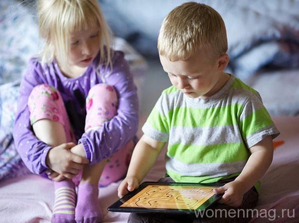 Планшет детям: надо ли
