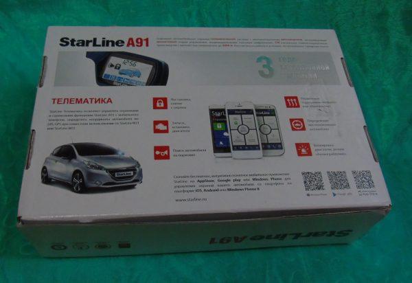 Автомобильная охранная система «StarLine A91»
