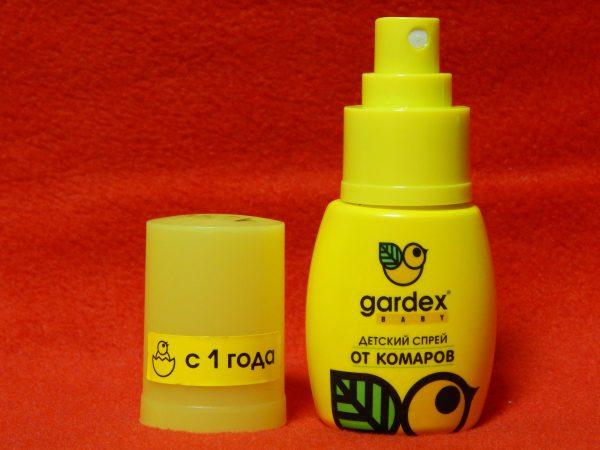 Детский спрей от комаров Гардекс Бэби с 1 года