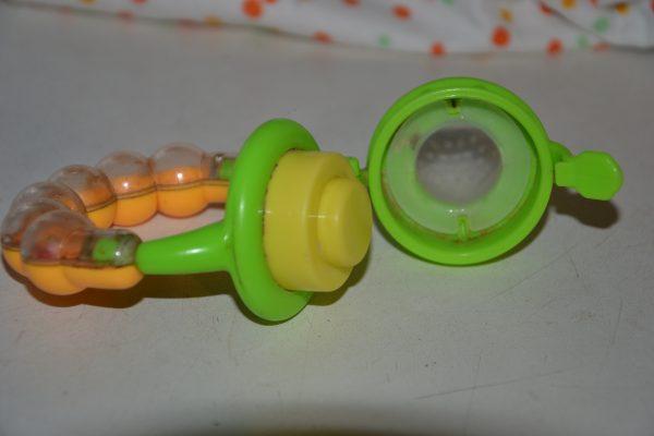 Детский ниблер с силиконовой соской