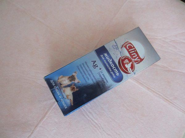 Жидкость для полости рта Cliny для кошек и собак