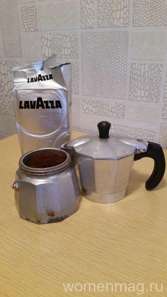 Заварной кофе Lavazza