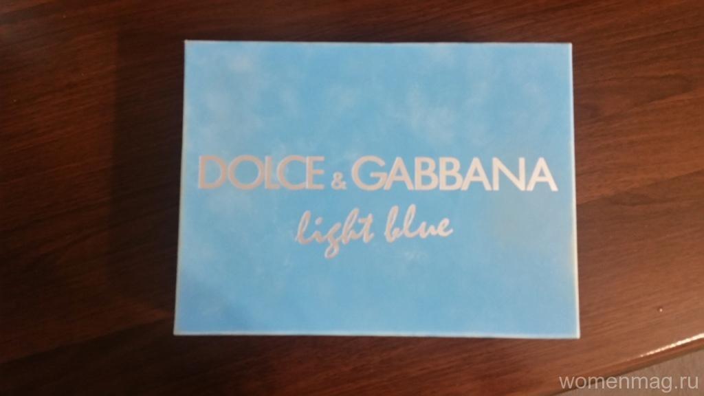 Подарочный набор Dolce & Gabbana. Отзыв