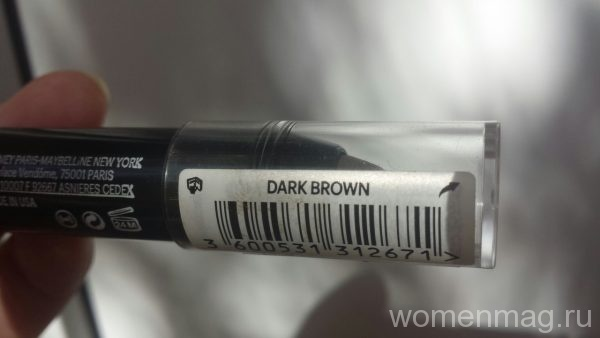 Помада-карандаш для бровей Brow Drama от Maybelline