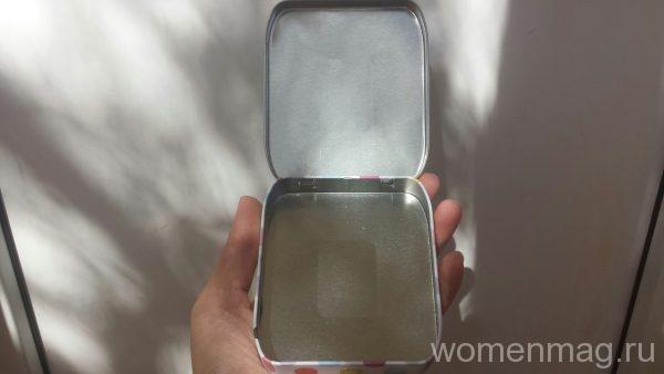 Коробочка для хранения средств личной гигиены