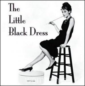 С чем можно носить маленькое черное платье?