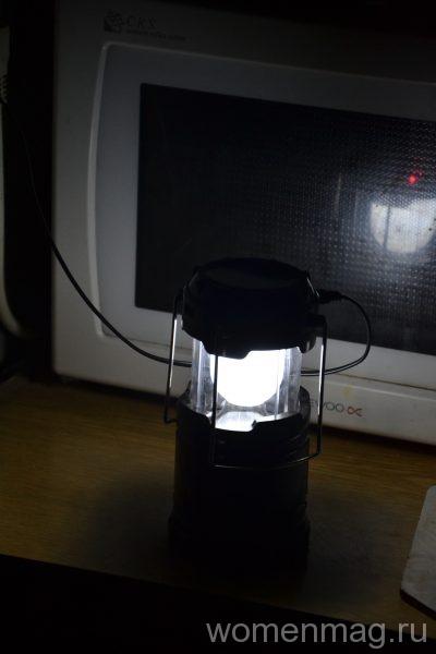 Китайский многофункциональный фонарь