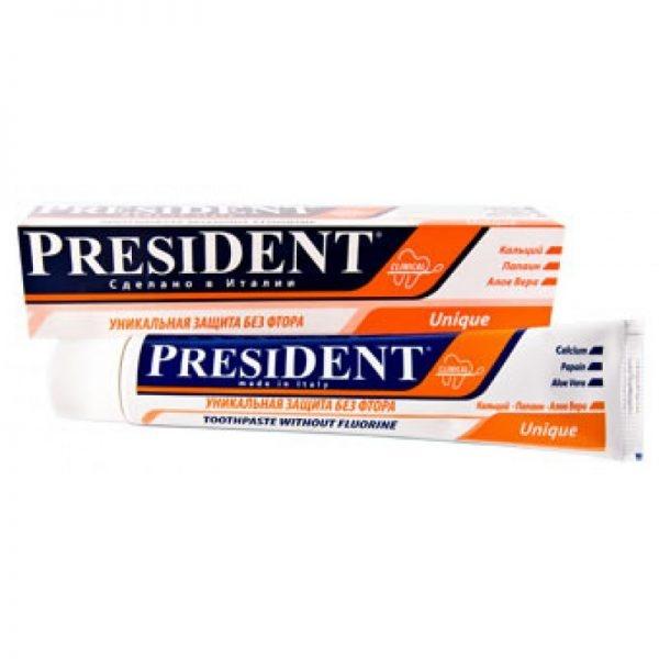 Зубная паста President Unique