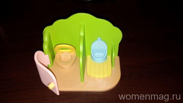 Набор от Sylvania Families Туалетная комната для детского сада